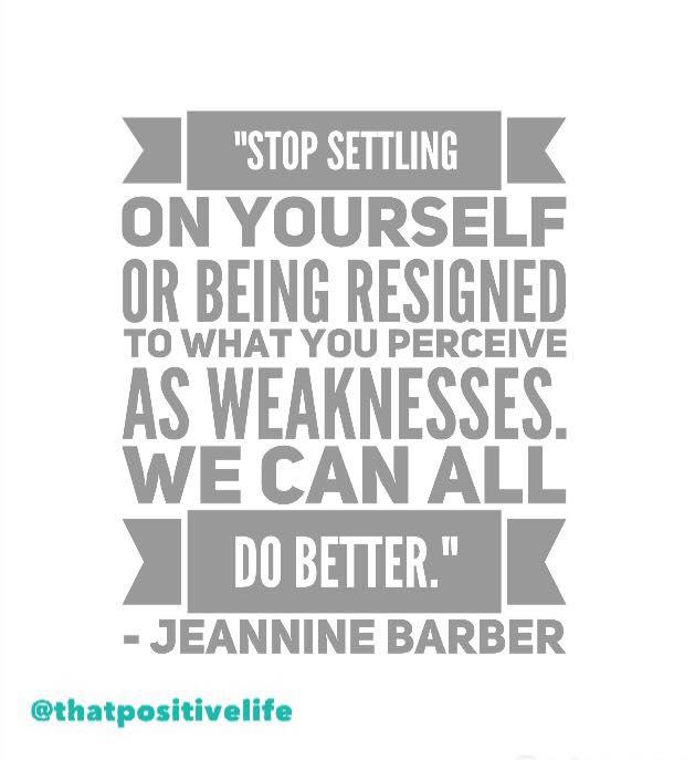 stop settling